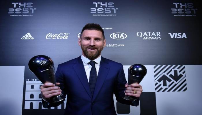 Messi Sets a Record by Winning Six Time FIFA Player of the Year Award